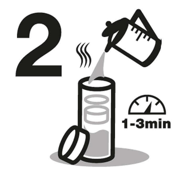 Instrucción de Botella aislada 2